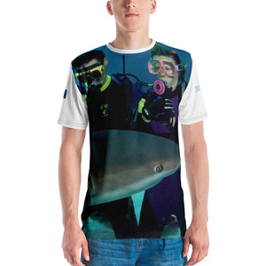 Premium T-shirt (2-sided) - Short Sleeve Unisex - Swimming With Sharks Collection II