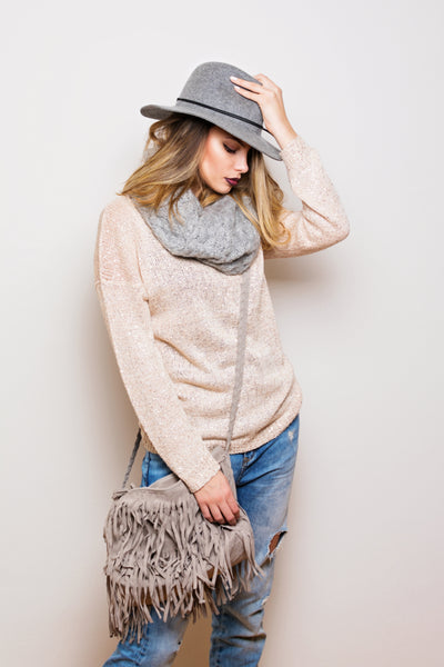 Neutral tone outfit