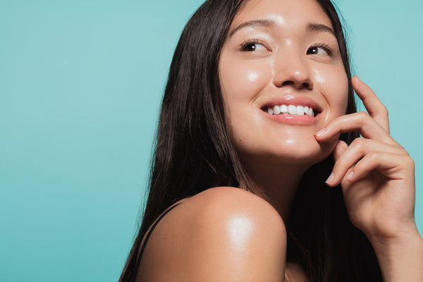 Young woman with healthy skin