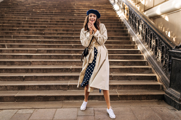 Classic and chic French outfit