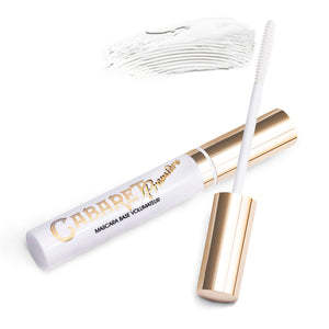 Lash Primer Cabaret Premiere Vivienne Sabo applied to natural lashes in the sexy style  no lash extension| Lash Primer