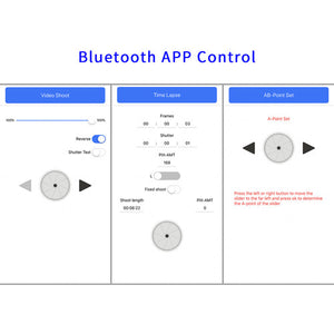 CAME-TV Control deslizante Parallax con Bluetooth