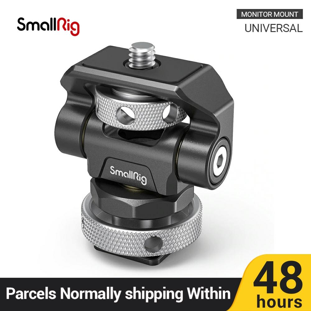 SmallRig Montura de Monitor Swivel & Tilt Adjustable para SmallHD/Atomos/Blackmagic Monitor/Screen Mount -2905