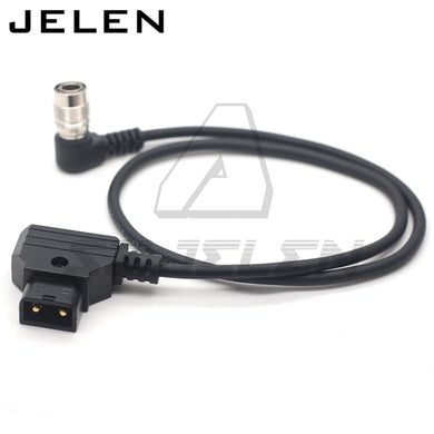 Cable de Alimentacion DTAP a Hirose 4P angulo recto, para Sound Devices 688/633 o Zoom F8