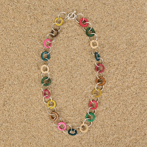 Highlands Rainbow Wood Small Chain Necklace