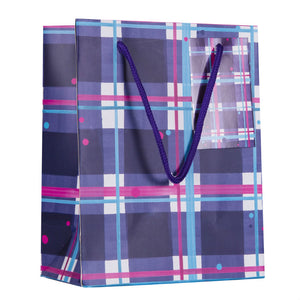 Blaeberry Tartan Small Gift Bag (SIGB01TAR)