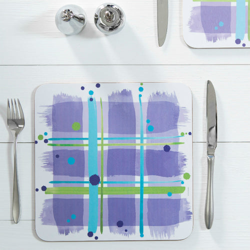 Bramble Tartan Table Mat set of 2 (SITM34SET2)