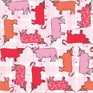 Highland Cow Paper Napkins 20 pack (SIPN01COW)