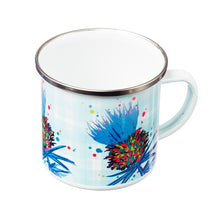 Load image into Gallery viewer, Thistle Enamel Mug Purple (SI-EM-P)