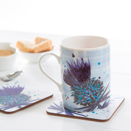 Bramble Thistle Coaster set of 4 Purple (SICO09SET)