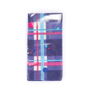 Tartan Pocket Paper Tissues 10 pack (SITI01TAR)