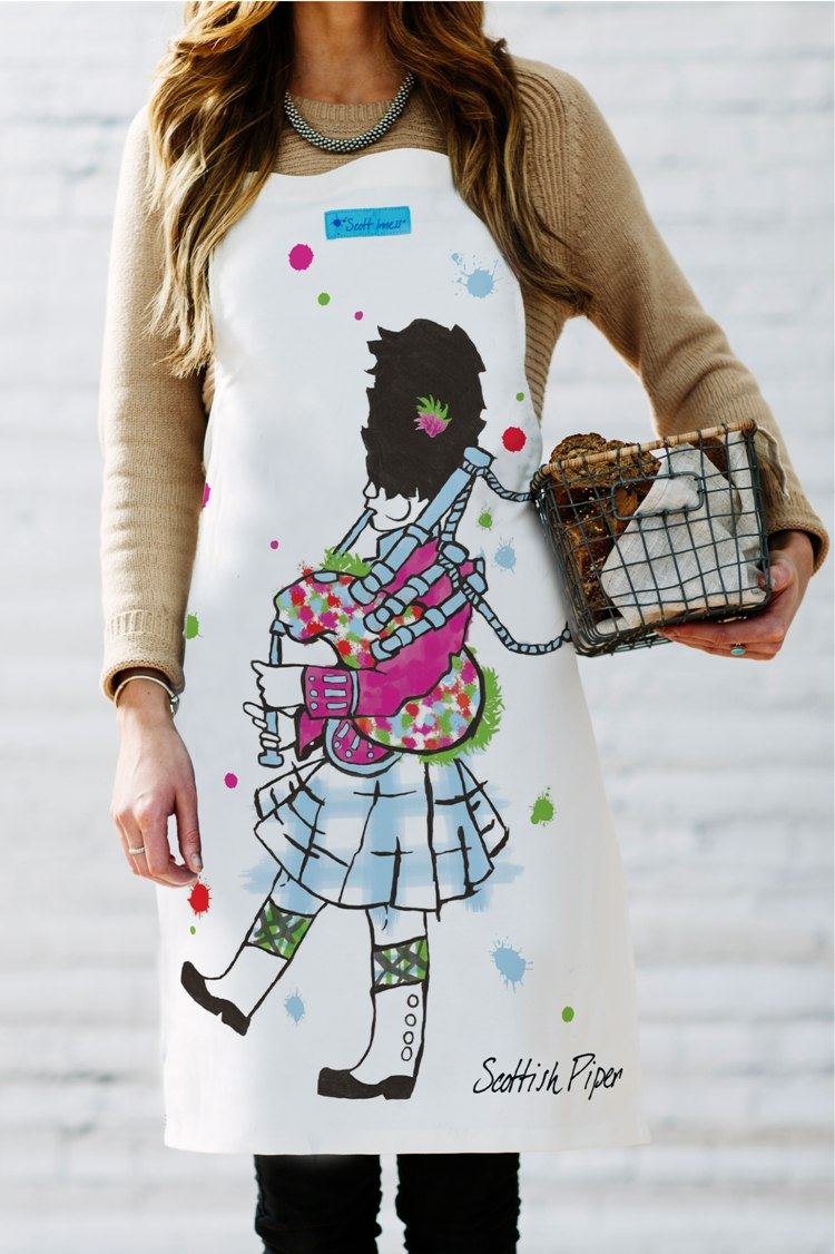 Scottish Piper  Apron (SI-A-SP)