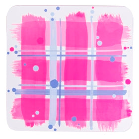 Pink Tartan Table Mats set of 2 (SITM36SET2)
