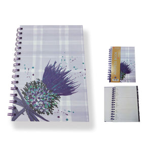 Bramble Thistle A5 Address Book (SIADD01BT)
