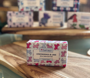 Luxury Soap Bar by Scott Inness Scottie Dog Design (SIBSSD)