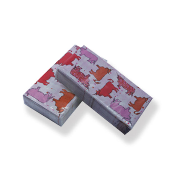 Highland Cow Pocket Paper Tissues 10 pack (SITI01COW)