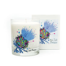Load image into Gallery viewer, Luxury Blue Thistle Scented Candle - Lochside Breeze (SI-C-T-B)