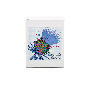 Luxury Blue Thistle Scented Candle - Lochside Breeze (SI-C-T-B)