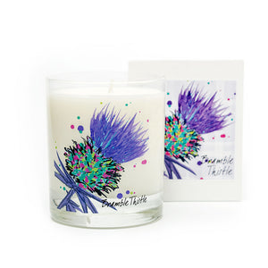 Luxury Thistle Scented Candles set of 4 (SI-C-T-SET4-P/PI/B/G)
