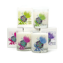 Load image into Gallery viewer, Luxury Pink Thistle Scented Candle - Highland Berries (SI-C-T-PI)