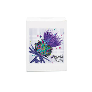 Luxury Purple Thistle Scented Candle - Bramble Thistle (SI-C-T-P)