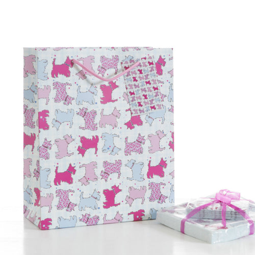 Scottie Dog Medium Gift Bag (SIGB02SD)
