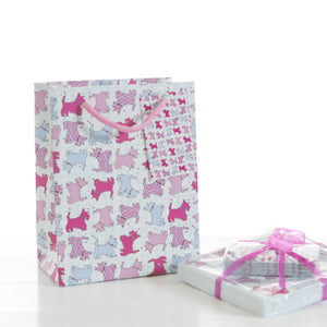 Scottie Dog Small Gift Bag (SIGB01SD)
