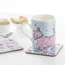 Load image into Gallery viewer, Scottie Dog Repeat Coasters set of 2 (SICO32SET2)