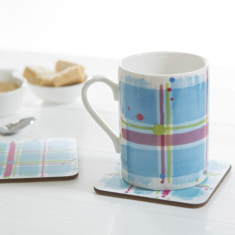 Skye Tartan Patch Coasters set of 2 (SICO35SET2)