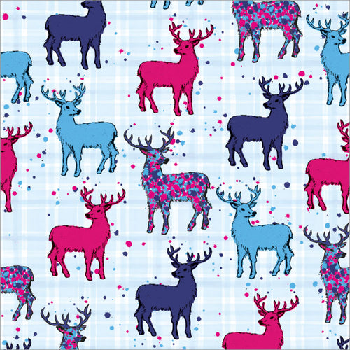 Scottish Stag Paper Napkins (SIPN01ST)