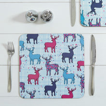 Load image into Gallery viewer, Scottish Stag Repeat Table Mats set of 2 (SITM33SET2)