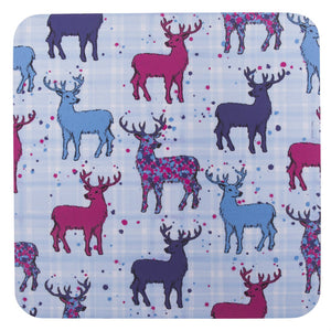 Scottish Stag Repeat Table Mats set of 2 (SITM33SET2)