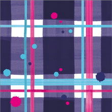 Load image into Gallery viewer, Blaeberry Tartan Paper Napkins pack of 20 (SIPN01TAR)