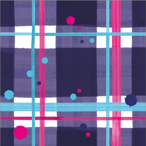 Blaeberry Tartan Paper Napkins pack of 20 (SIPN01TAR)
