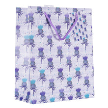 Load image into Gallery viewer, Scottish Thistle Medium Gift Bag (SIGB02TH)