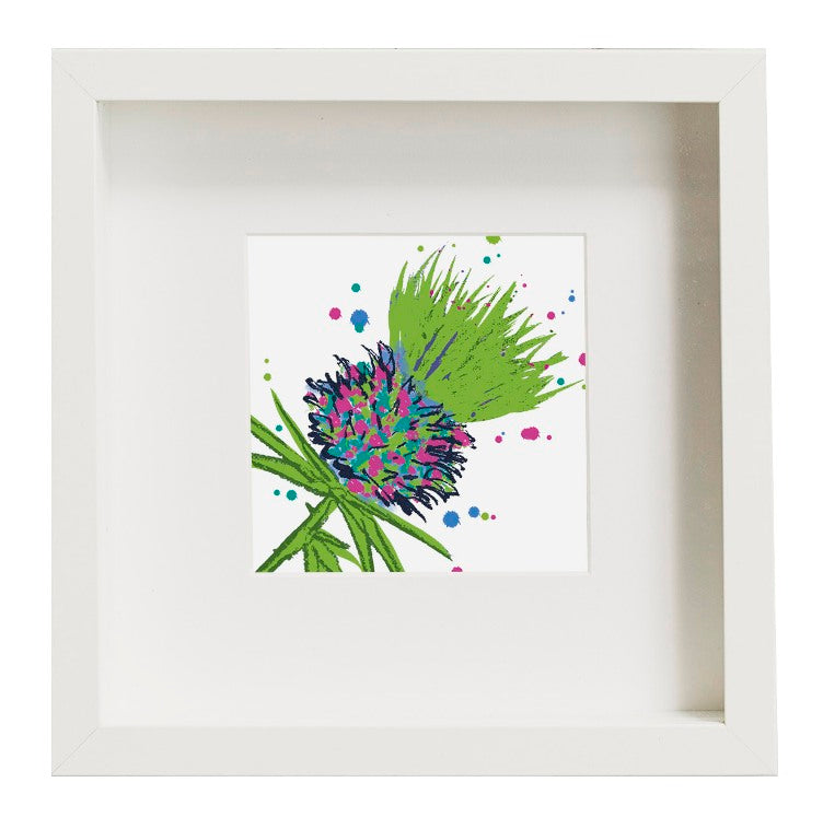 Thistle Art Print Green unframed (SI-SP-T-G)