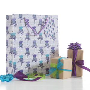 Scottish Thistle Medium Gift Bag (SIGB02TH)