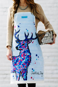 Scottish Stag Apron (SI-A-SS)