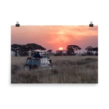 Load image into Gallery viewer, Serengeti Sunrise Poster