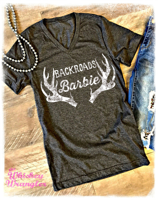 Backroads Barbie Tee