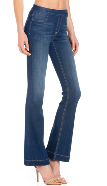 CELLO Dark Wash Boot Cut Jeans