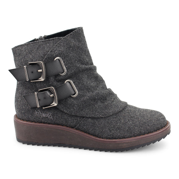 Cocoa Wedge Bootie