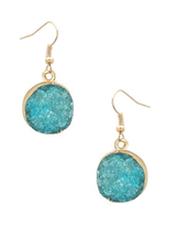 Druzy Dangle Earrings