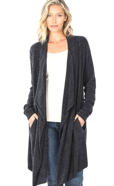 Three Rivers Peak Drape Cardigan
