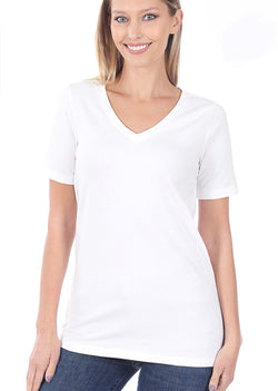 Miranda Basic V-Neck Tee