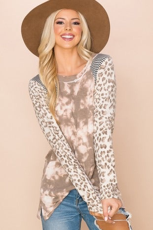 Lainey Leopard Sweater