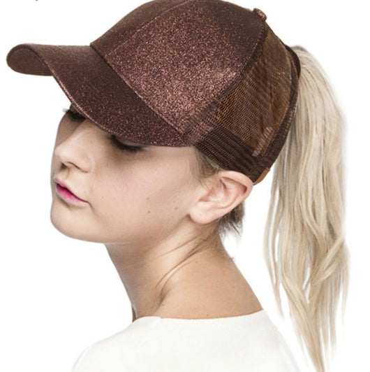 CC Shimmer Ponytail Hats