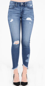 Ryleigh Distressed Jeans by Kancan