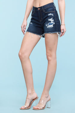 Judy Blue Patch Shorts