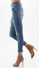 Ashton Distressed Jeans by Kancan